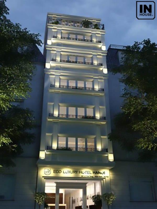Thiết kế khách sạn hiện đại, sang trọng