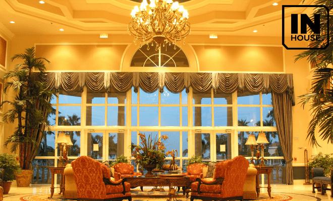 Thiết kế nội thất khách sạn kiểu Pháp