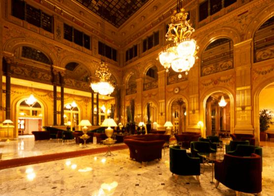 Thiết kế nội thất khách sạn phong cách tân cổ (Ảnh: Internet)
