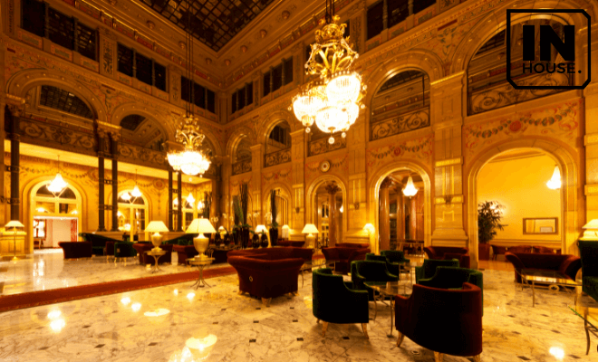 Thiết kế nội thất khách sạn phong cách tân cổ