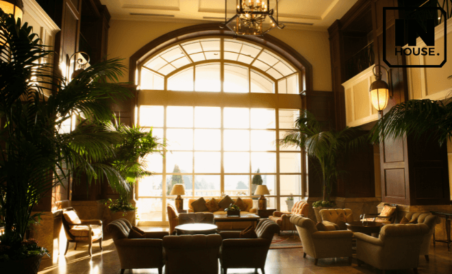 Thiết kế nội thất phong cách kiểu Pháp.