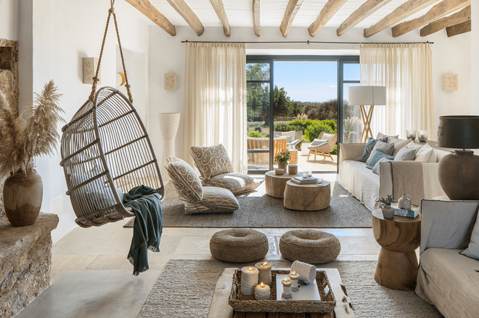 Thiết kế nội thất phong cách organic