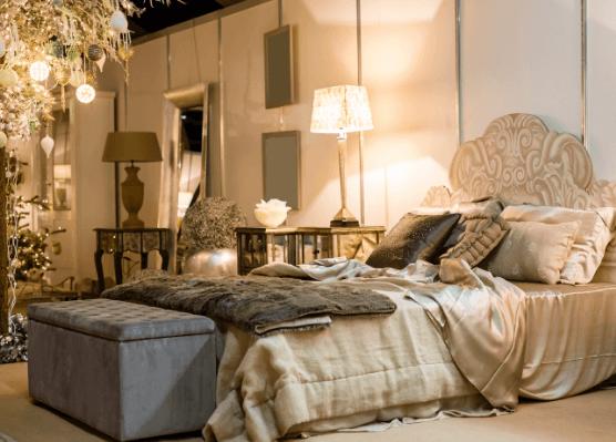 Phòng ngủ phong cách Tân Cổ Điển  (Ảnh: Internet)