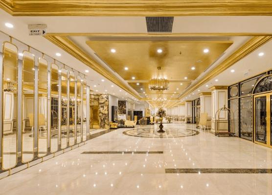 Tiền sảnh khách sạn phong cách Tân Cổ Điển  (Ảnh: Internet)