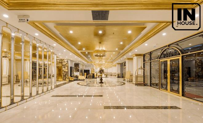 Tiền sảnh khách sạn kiểu Pháp