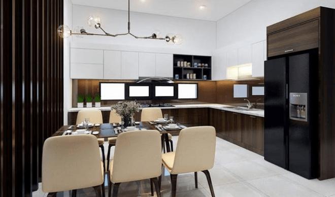 Trang trí nội thất phòng bếp và ăn uống