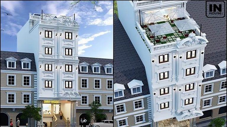 Thiết kế khách sạn 200m2