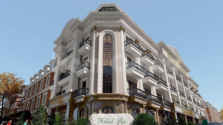 Thiết kế khách sạn 2 mặt tiền