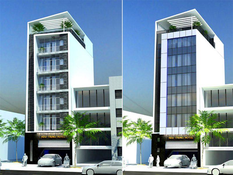Khách sạn mặt tiền 9m (Ảnh: Internet)