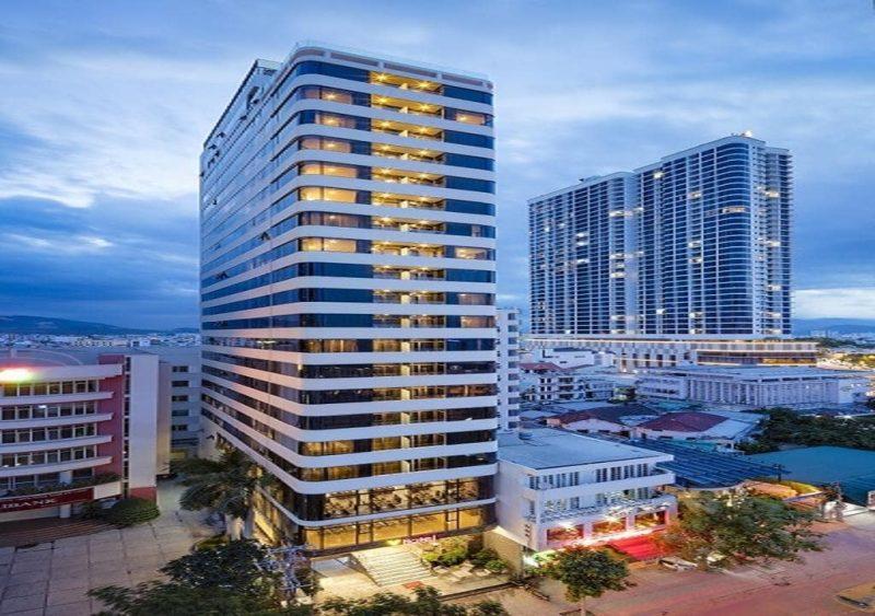Thiết kế khách sạn 4 sao phong cách hiện đại (Ảnh: Internet)