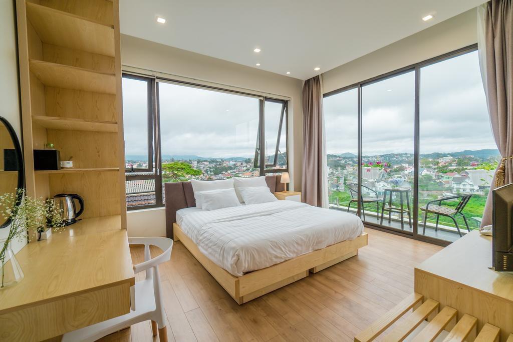 Phòng ngủ tiêu chuẩn thiết kế khách sạn 4 sao (Ảnh: Internet)