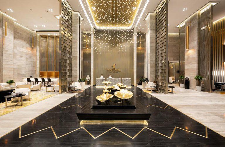 Thiết kế sảnh khách sạn ( Ảnh: Internet )