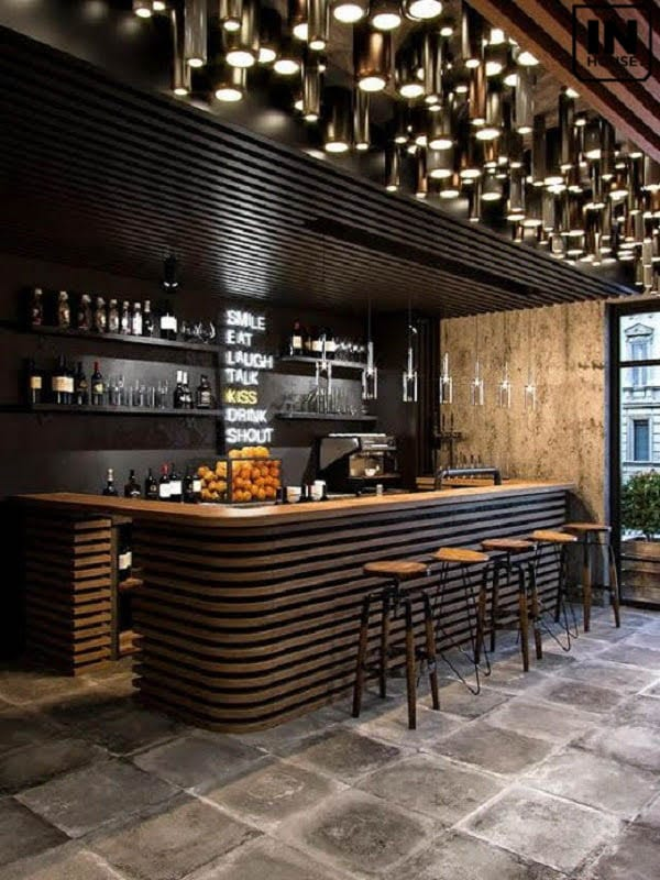 Thiết kế quầy bar
