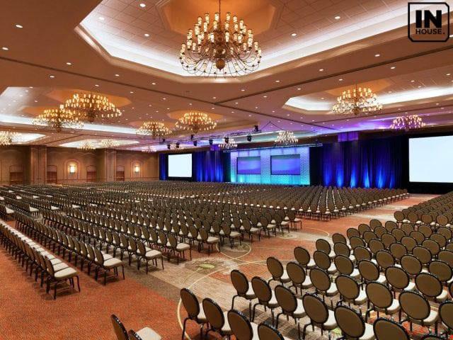 Phòng hội nghị với sức chứa lớn