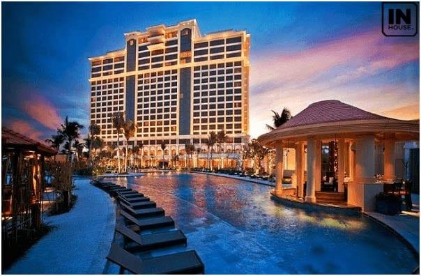 Thiết kế khách sạn 5 sao cao cấp, sang trọng