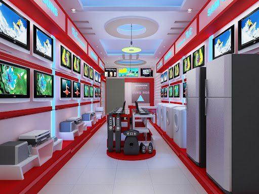 Thiết kế showroom điện máy (Ảnh: Internet)