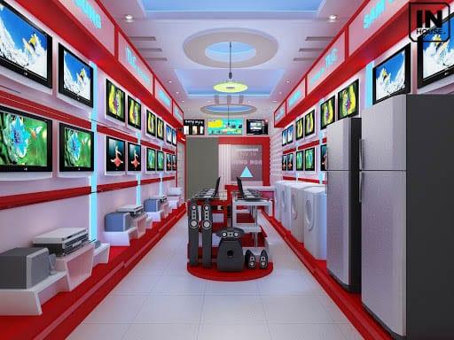 Thiết kế showroom đạt chất lượng