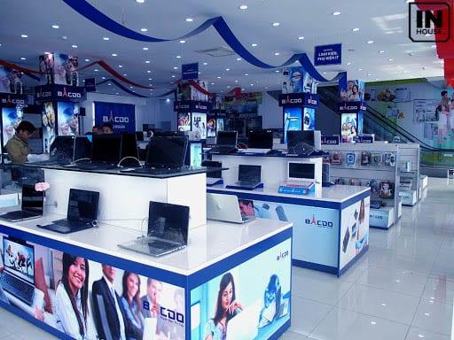 Showroom kinh doanh laptop