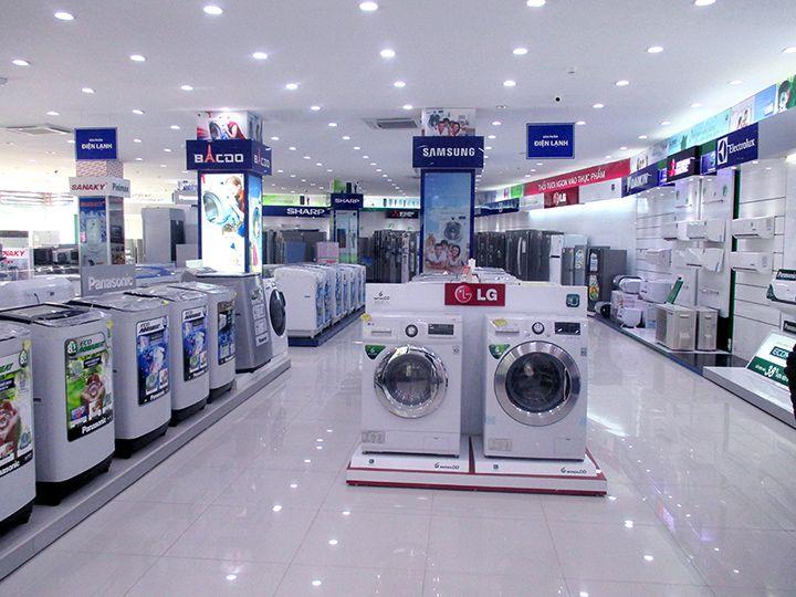 Showroom bán đồ điện gia dụng (Ảnh: Internet)