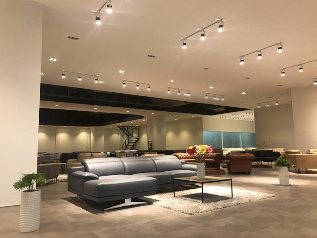 Thiết kế showroom nội thất hiện đại (Ảnh: Internet)