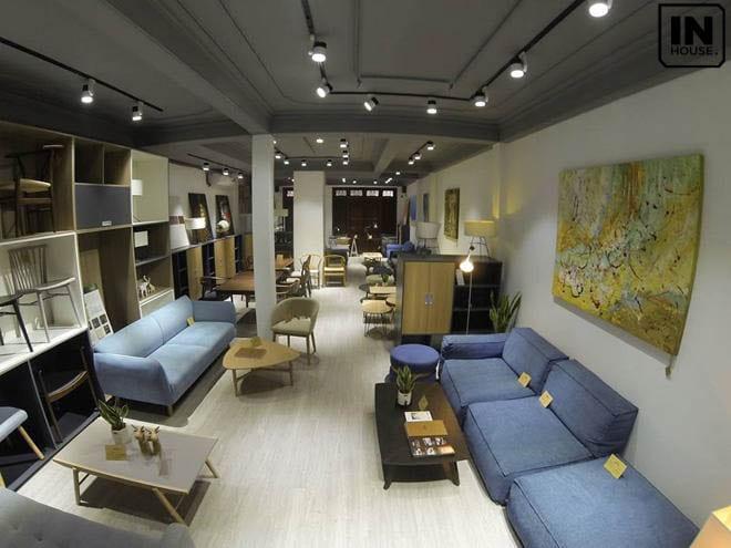 Thiết kế nội thất showroom trưng bày theo phong cách Boutique