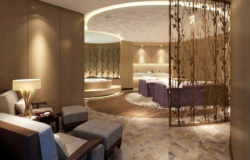 Thiết kế nội thất Spa phong cách tân cổ điển sang trọng