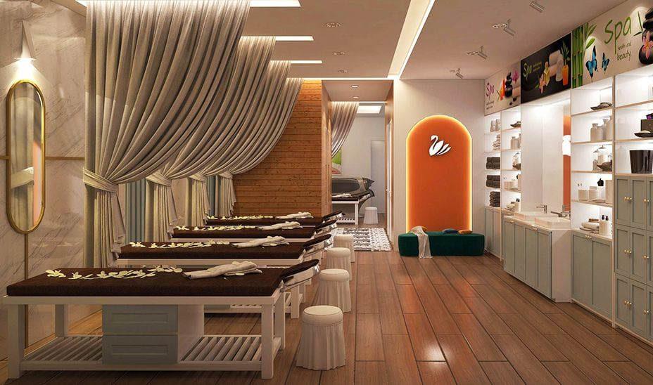 Thiết kế phòng Spa hiện đại