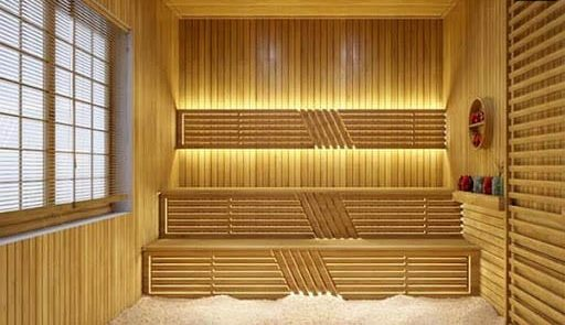 Phòng xông hơi Nhật Bản