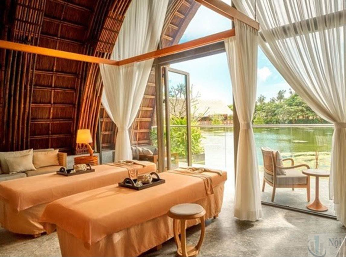 Thiết kế spa trong resort