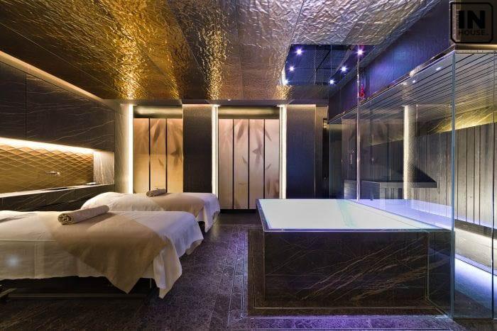 Phòng spa có bồn tắm