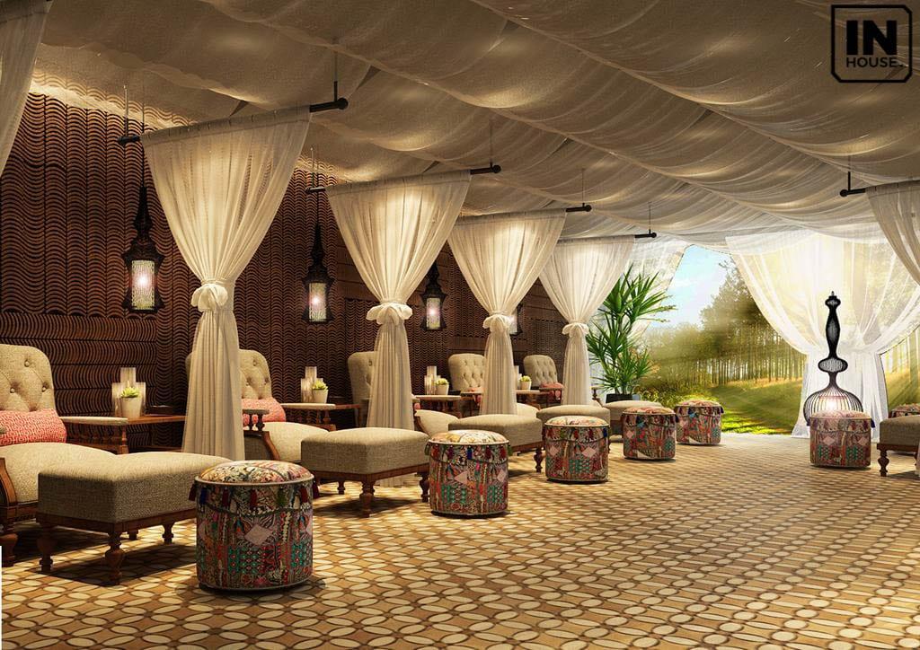 Spa trong Resort