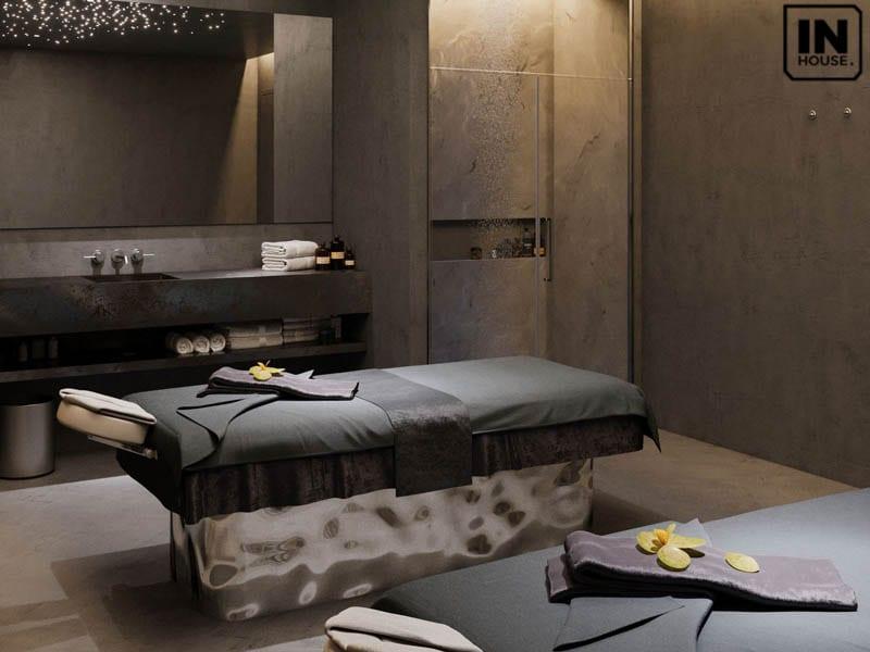 Khu vực phòng massage