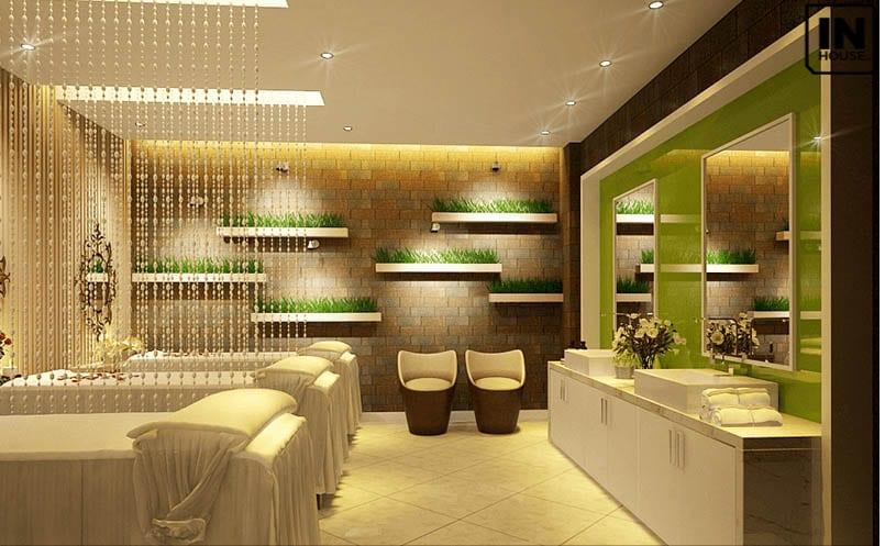 Khu vực massage