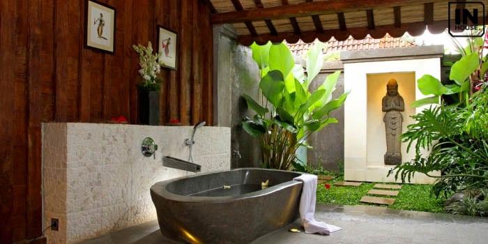 Thiết kế spa có bồn tắm