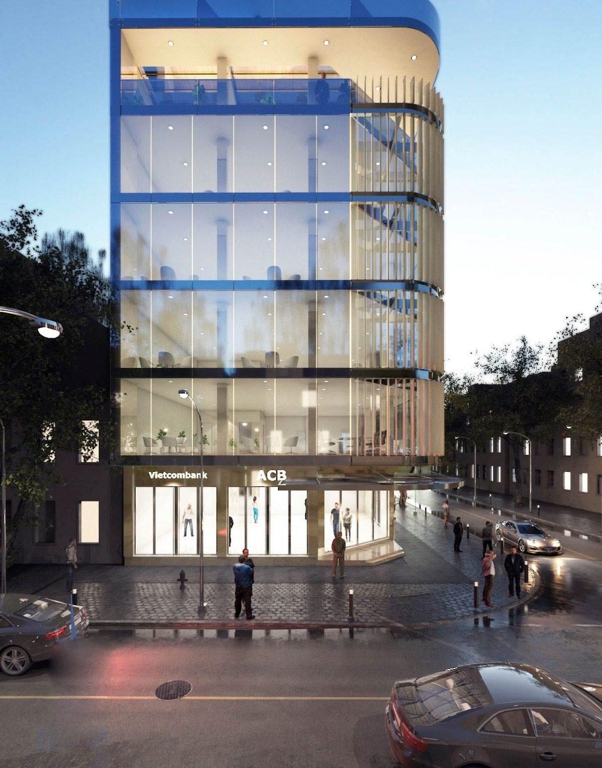 Thiết kế tòa nhà văn phòng