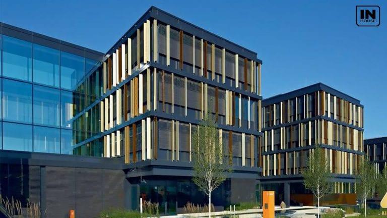 Thiết kế tòa nhà văn phòng hiện đại