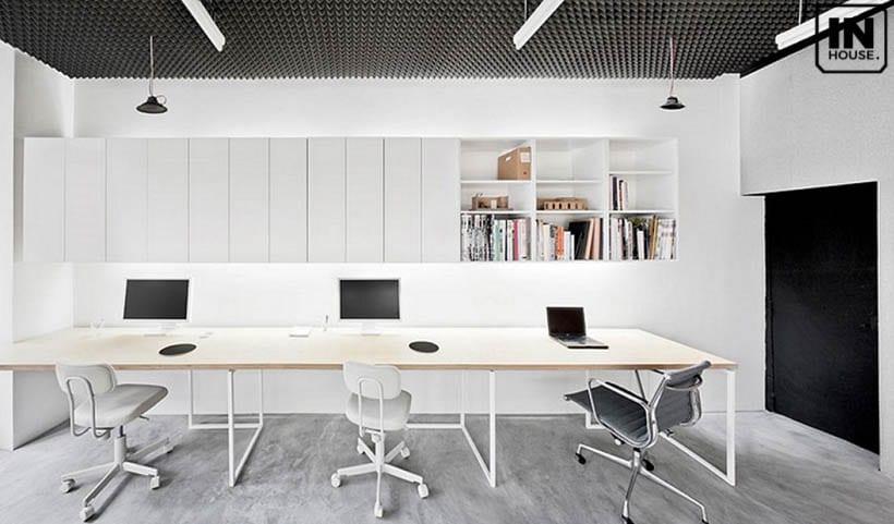 Thiết kế văn phòng đơn giản