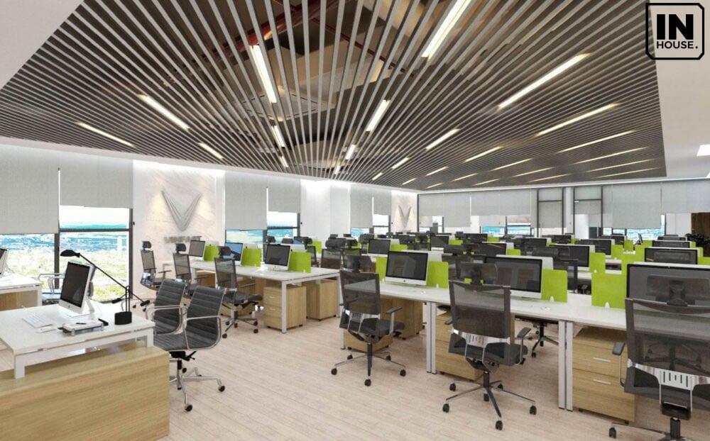 Thiết kế văn phòng trên 1500m2