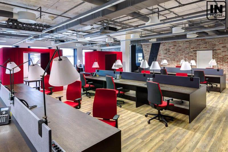 Thiết kế văn phòng trên 500m2