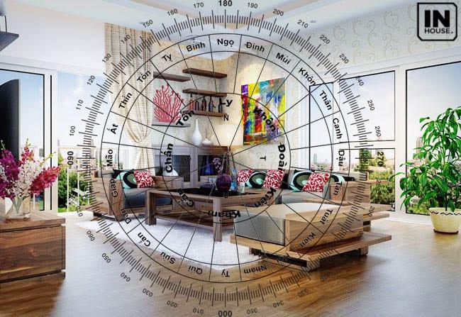 Yếu tố phong thủy trong thiết kế nội thất