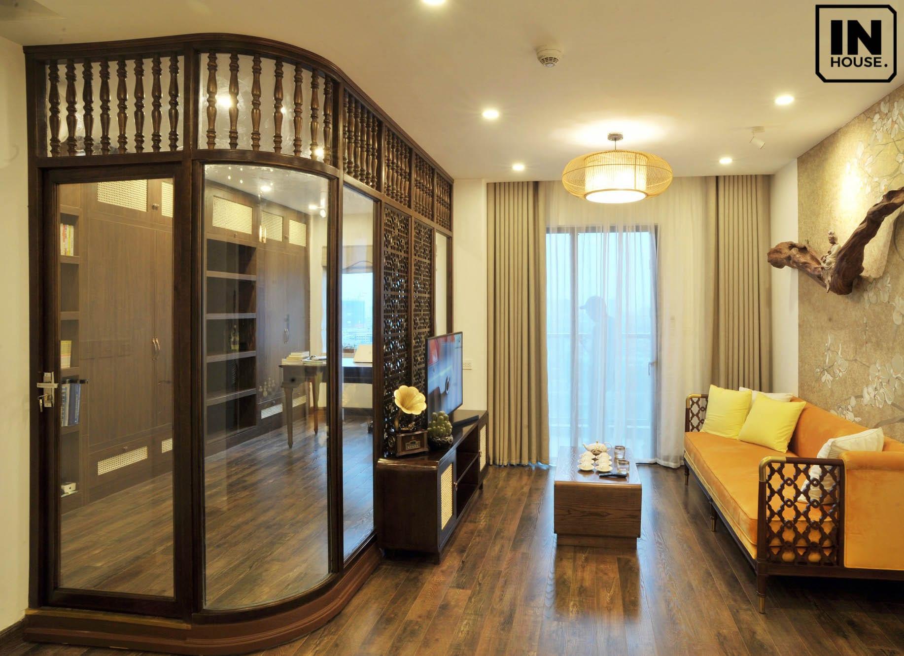 Thiết kế căn hộ theo phong cách Indochine Style