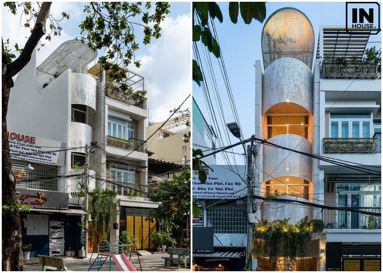 Thiết kế nhà phố theo phong cách Indochine Style