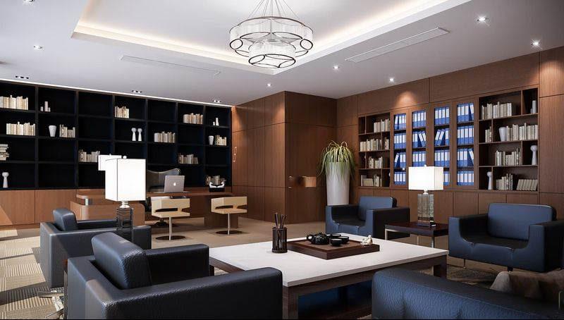 Thiết kế nội thất văn phòng luật sư tránh sự cứng nhắc