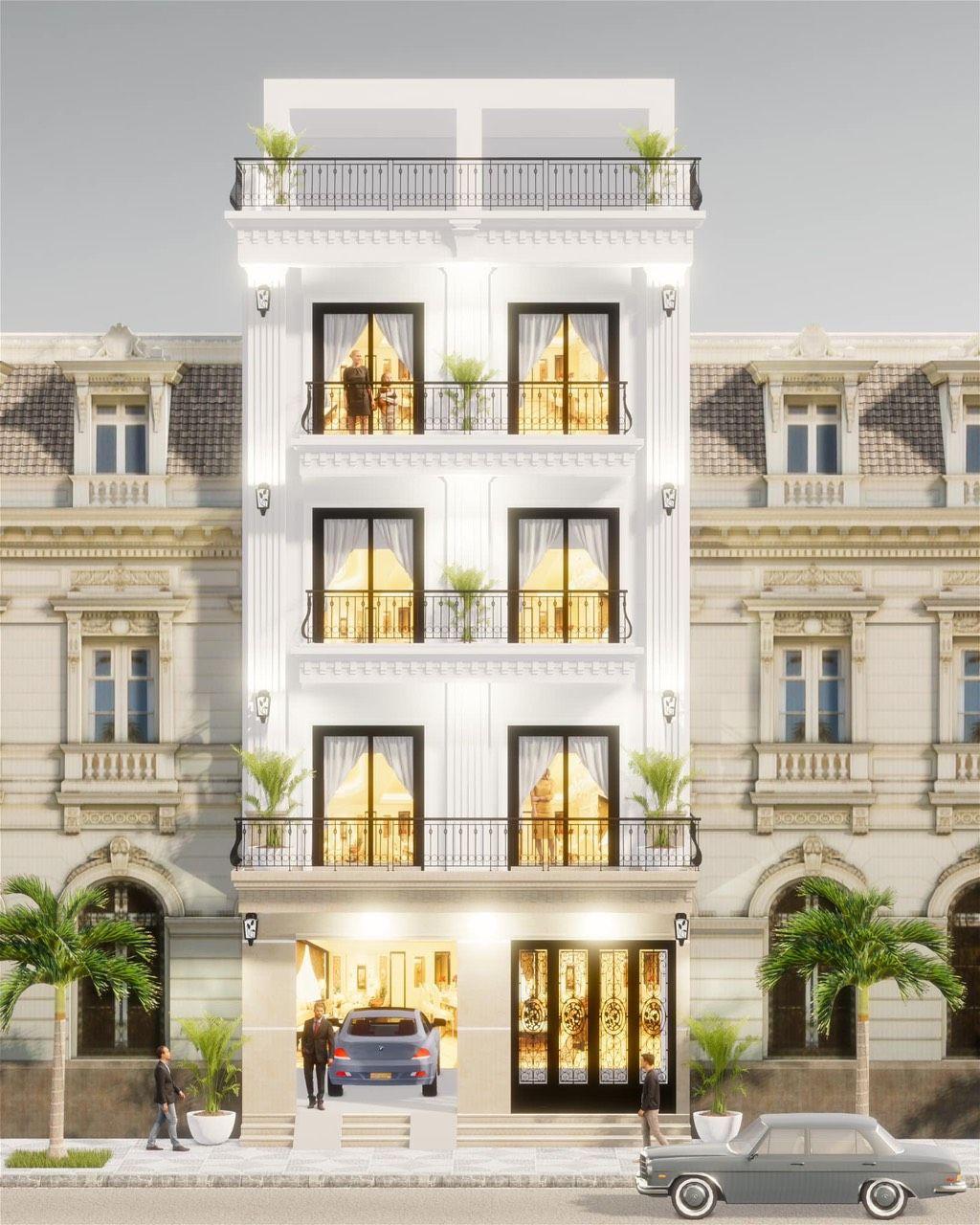 Thiết kế khách sạn 5 tầng ( Nguồn ảnh: Internet )