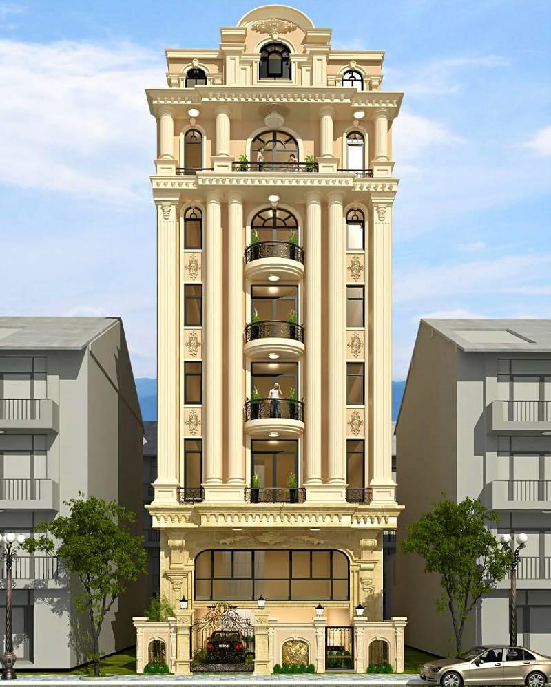 Thiết kế khách sạn tân cổ điển (Nguồn ảnh: Internet)