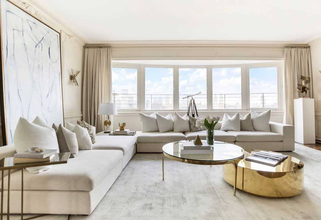 Phong cách thiết kế nội thất Luxury ( Nguồn ảnh: Internet )