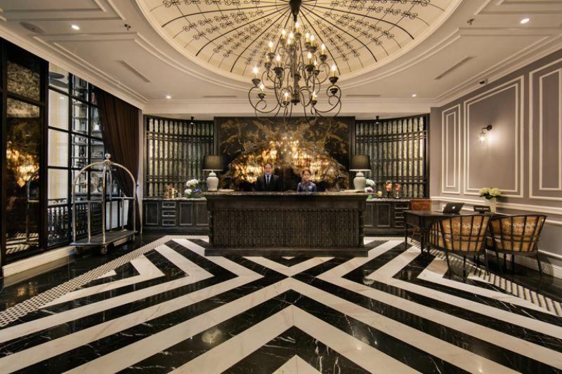 Thiết kế sảnh khách sạn ( Nguồn ảnh: Internet )