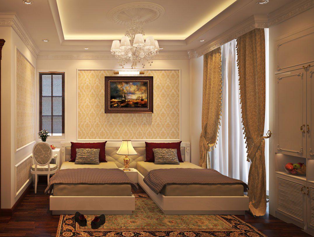 Thiết kế phòng khách sạn đẹp ( Nguồn ảnh: Internet )