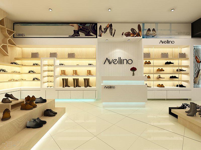 Thiết kế showroom cửa hàng (Ảnh: Internet)