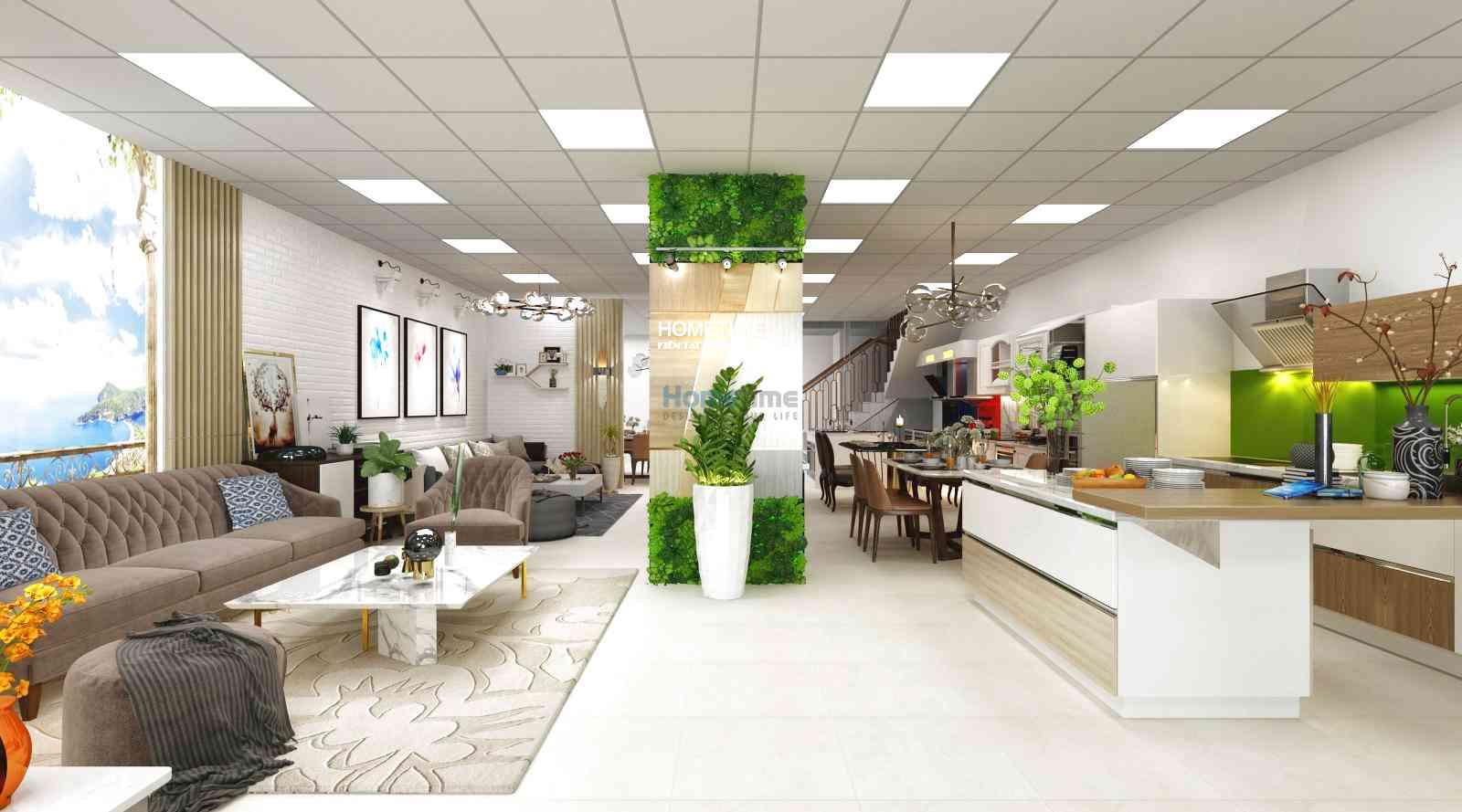 Thiết kế showroom văn phòng (Ảnh: Internet)